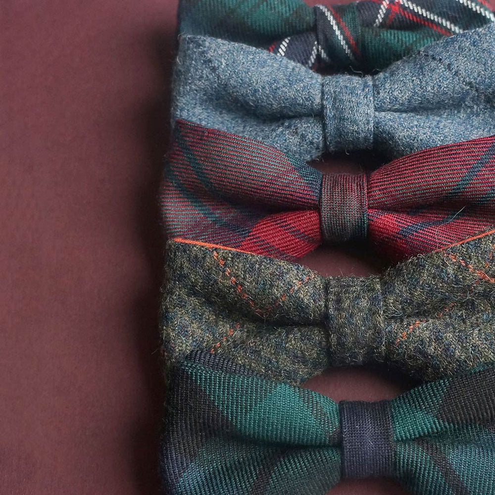 Bow ties made in the UK