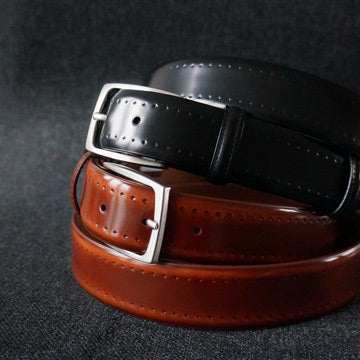 Elliot Rhodes | Handmade leather belts