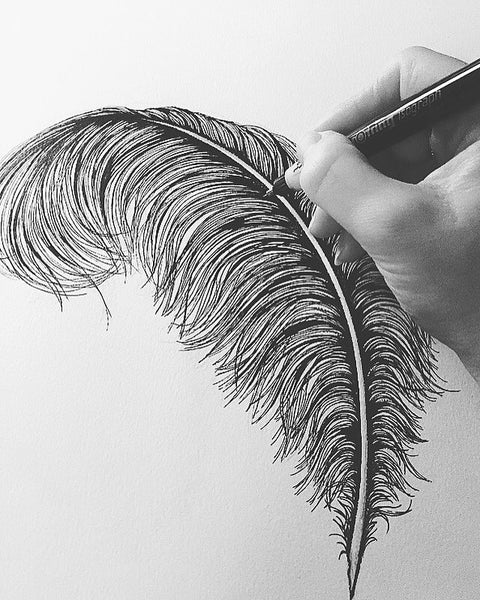 Emily Carter hand-drawing