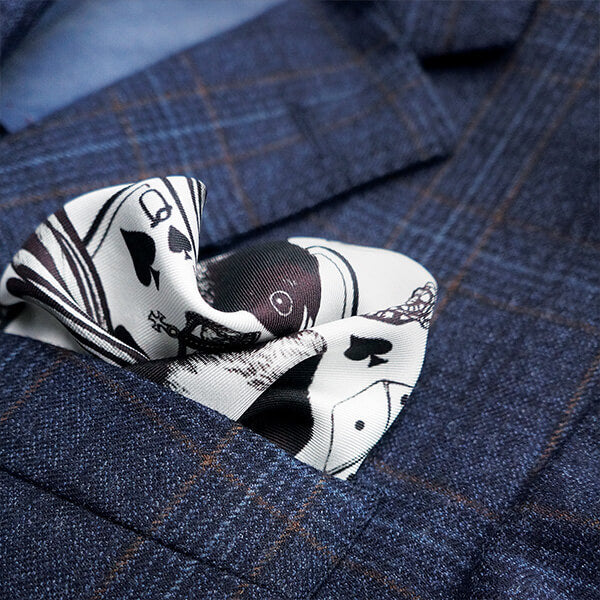 Emily Carter pocket squares