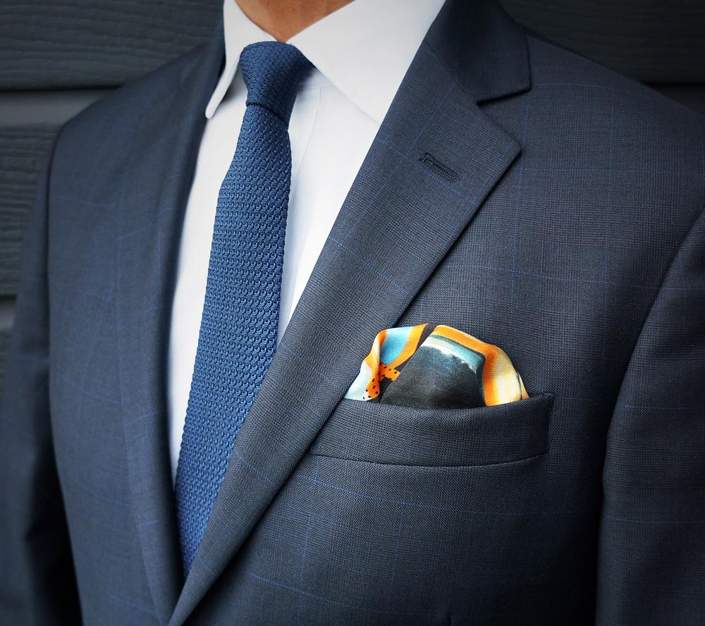 Pocket squares with flair | Made in England