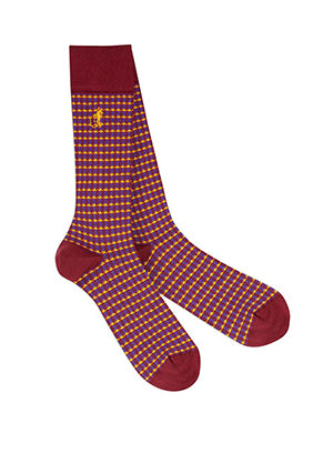 London Sock Company houndstooth socks