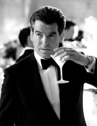 Pierce Brosnan James Bond style