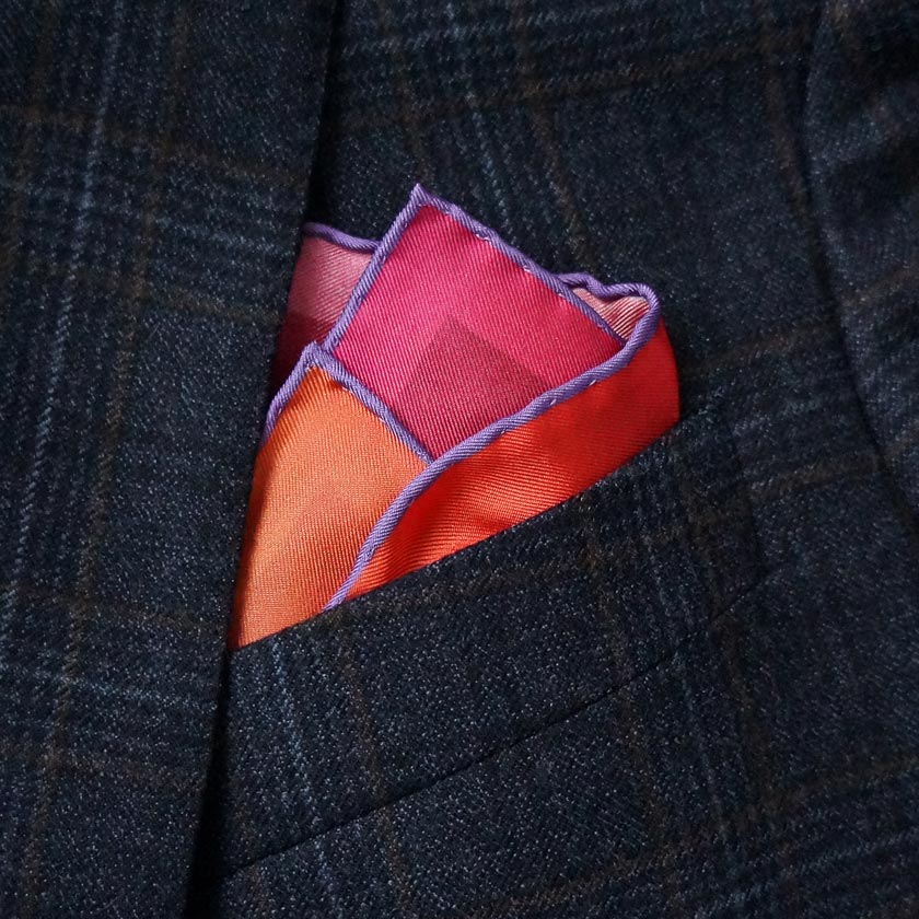 Pocket squares made in the UK