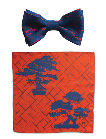 Rory Hutton Manchuria bow tie gift set