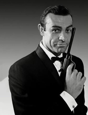 Sean Connery James Bond style