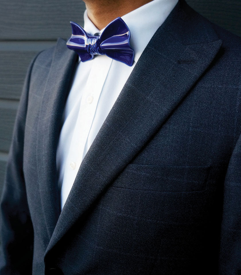 Statement bow ties for men