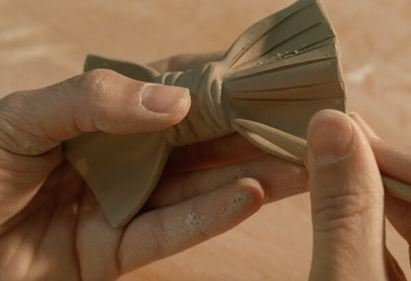 Yojo Limited | Making of ceramic bow ties
