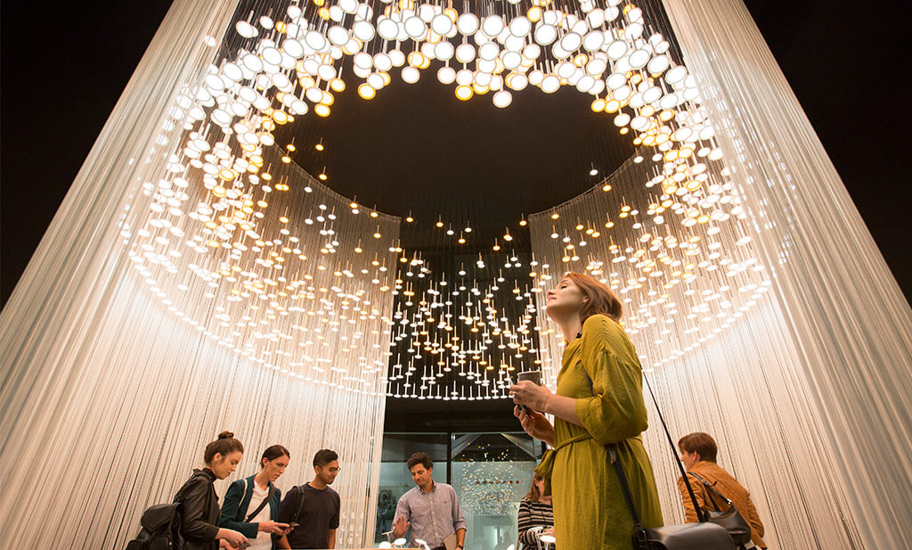 DesignJunction lighting installation
