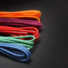 Colourful laces for men