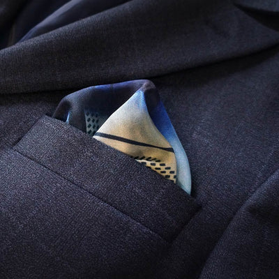 E.D.R Creations x Jeya Narrative | Set of 4 pocket squares