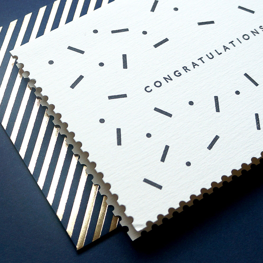 Katie Leamon | Luxury congratulations greeting card