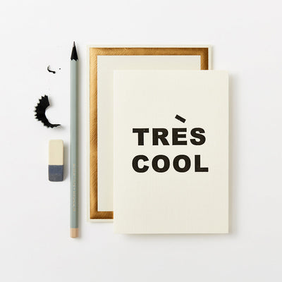 Très Cool luxury greeting card for him