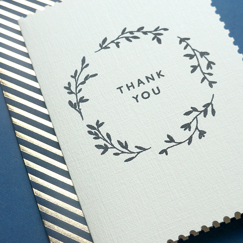 Luxury thank you card | Katie Leamon