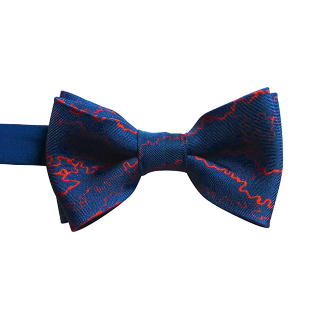 Rory Hutton | Manchuria navy silk bow tie
