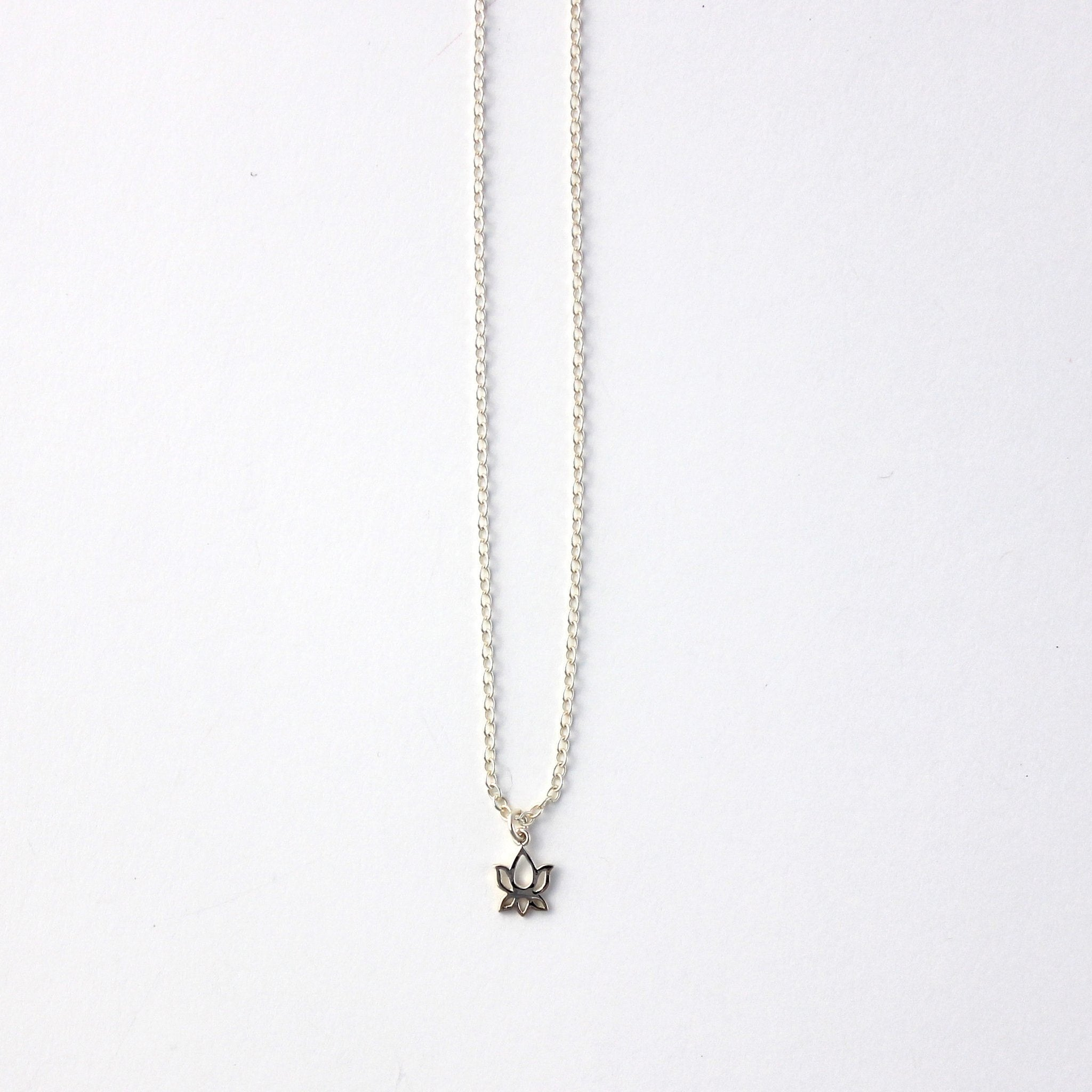 Lotus Flower Necklace Hope Sparked