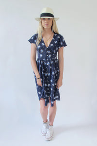 Holly Blue - Button Dress