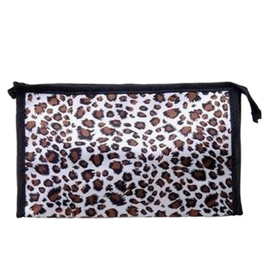 Leopard Print Makeup Cosmetics Bag