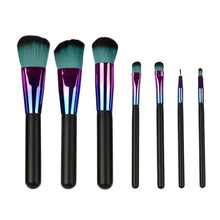 Professional Set of 7 Makeup Brushes