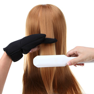 Hairdressing Three Fingers Glove - Heat Resistant