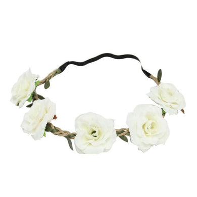 Floral Garland Hair Wreaths Headband in 8 Colours