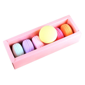 Cute Macaron Shape Foundation Cosmetic Sponges