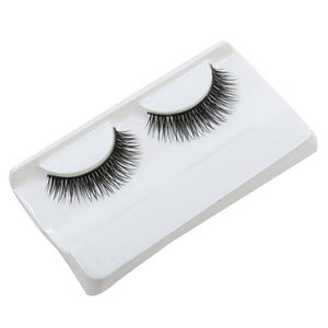Single Pair of Natural Looking False Eyelashes