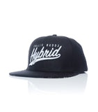 Hybrid Collection Black & White Snapback