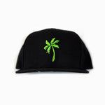 """Good Life"" Palm Tree Hat Green"