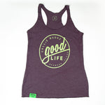 Womens Good Life Bermuda Tank Purple