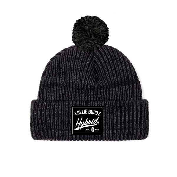 Hybrid Collection Dark Grey Palm Beanie