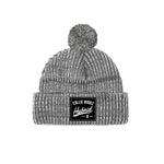 Hybrid Collection Light Grey Pom Beanie