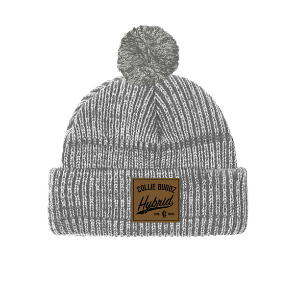 Hybrid Collection Light Grey Palm Beanie
