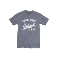 Hybrid Collection Platinum Heather Grey Men's T-Shirt