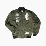 Collie Buddz - Hybrid Collection Bomber Jacket Olive Green