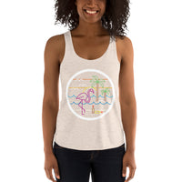Womens Racer Collie Buddz x Goslings Collab Tank *Limited Run*