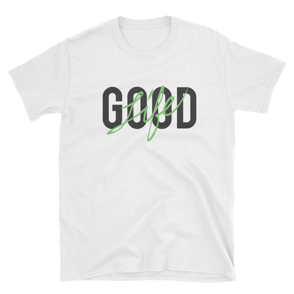 "Mens ""Good Life"" Hot Green T-Shirt"