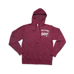 Collie Buddz - Hybrid Collection Cardinal Red Full Zip Hoodie
