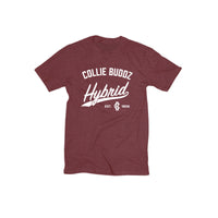 Collie Buddz - Hybrid Collection Crimson Heather Red T-Shirt