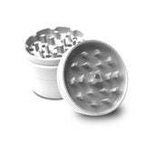 "Collie Buddz 4 Piece 2.5"" Herb Grinder Matte White"