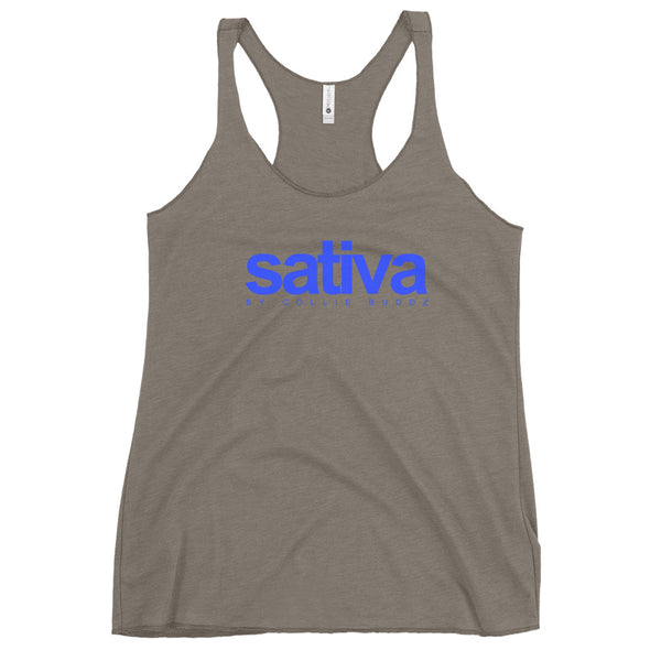 'Sativa' by Collie Buddz Women's Racerback Tank