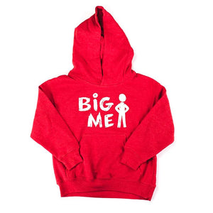 Big Me Red Sweatshirt: Apparel For Kids