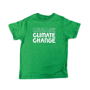 Big Me Green Climate Change Shirt: Apparel For Kids