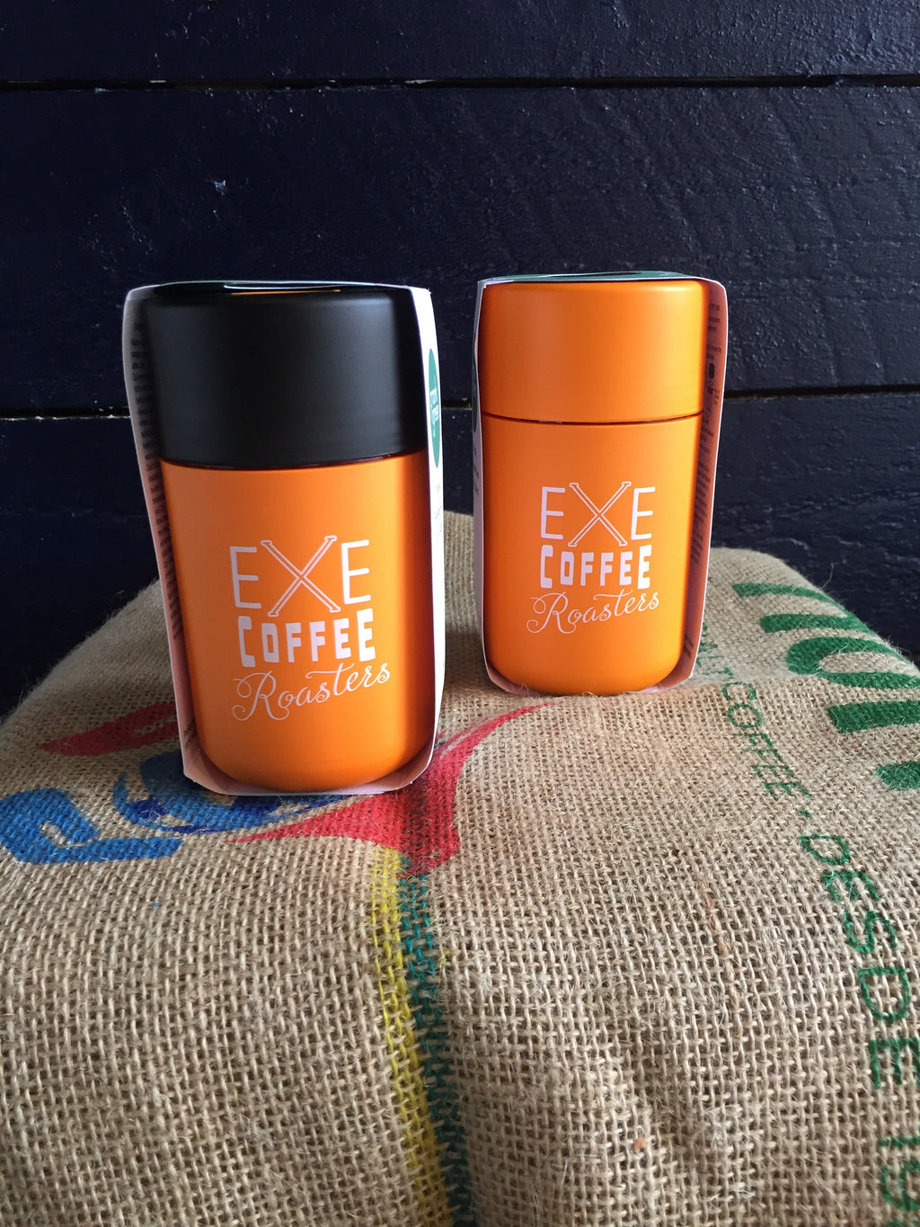 XCR X Frank Green branded cups