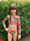 Hippie Party Bikini Long Sleeve