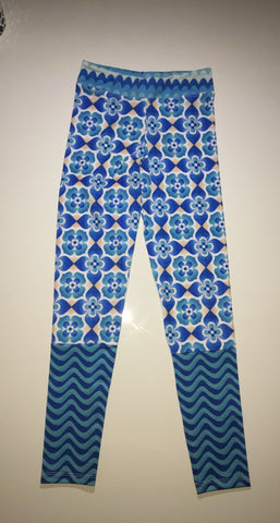 Blue Waves Legging Pant