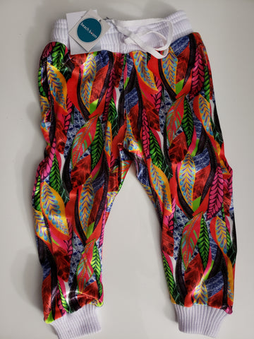 Color Plume Pants