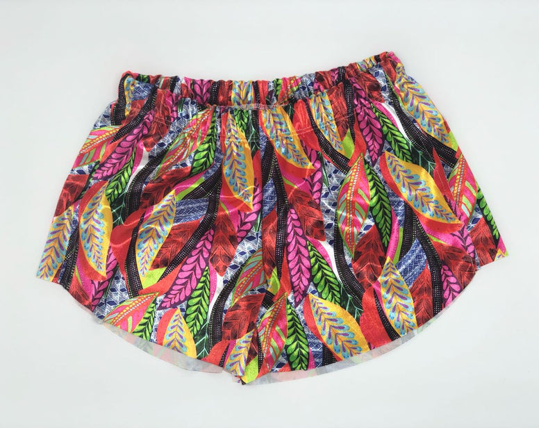 Color Plume Shorts