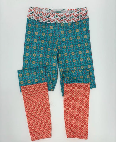 Retro Holiday Legging Pants