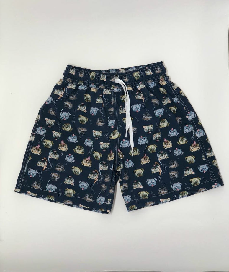 French Bulldog Resort Shorts